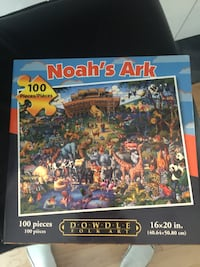 Noah's Ark 100 piece puzzle box