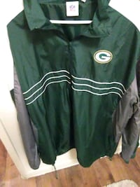 Green bay windbreaker  2xl
