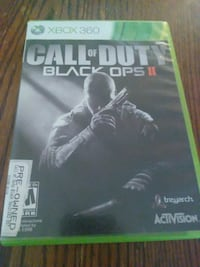 Xbox 360 Call of Duty Black Ops 2 case Amarillo, 79107