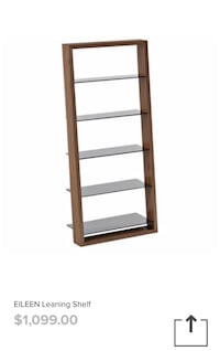 *PERFECT CONDITION* Leaning wall shelf from Inspiration furniture Surrey, V3Z 0S2