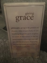 Brand new Giving Grace perfume by philosophy Winder, 30680