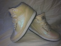 "Nike Air Jordan Python ""Pearl"" basketball shoes men's 8.5"