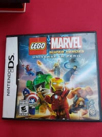 Lego marvel DS game ......