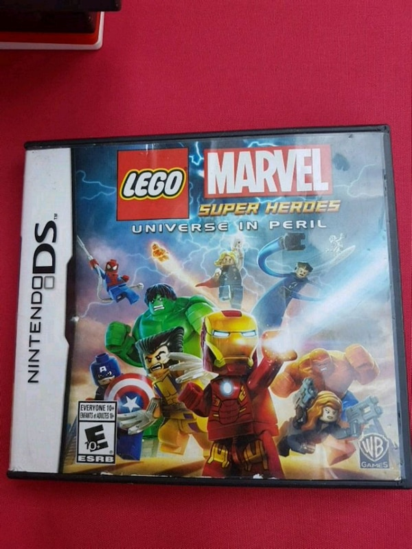 Lego marvel DS game ....... b4dae516-d0e9-4030-bc30-6431a235e200