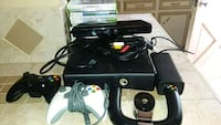 black Xbox 360 console with controller Pharr, 78577