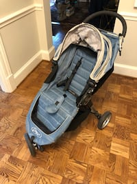 Used City Mini blue stroller Washington, 20016