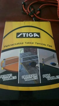 Portable retractable table tennis Beloit, 53511