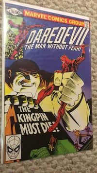Daredevil 170 minor key comic! Bolton, L7E 1P6