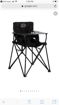 black and gray camping chair Houston, 77007