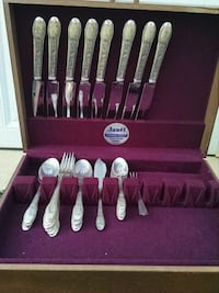 stainless steel cutlery set with case Sterling, 20166