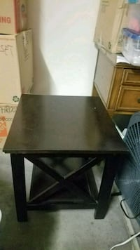 Dark brown wooden side table Las Vegas, 89178