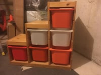 Trofast storage unit for sale - ikea  Mississauga, L5M 0B6