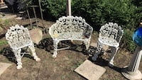 Cast iron lawn chairs Niles, 49120