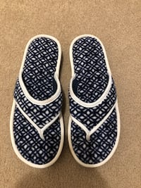 Soft sole slip on slippers!  Size 12