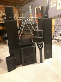 black and gray home theater system Barrie, L4N 0N2
