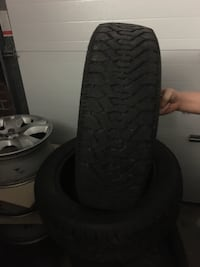 4 Winter tires 205 55 R16 fit ToyotaMatrix, used less than season, 75% +thread left Markham