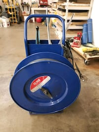 Banding cart made by Uline Minneapolis, 55431