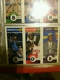 Sports card collection over 200 cards
