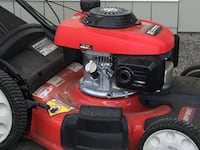 Red and black ride on lawn mower Monterey, 93940