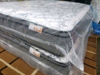 Queen mattress Pocket coil 2020 model. Delivery 30  to 50$ Edmonton, T5T 2Y9
