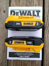 *BrandNew* 20V batteries-- two for $50