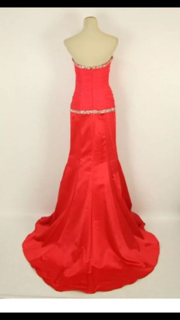 New with tags Red prom  by Jovani gown formal  94a19b15-89f8-4e02-8d8a-5a8d602fff0d