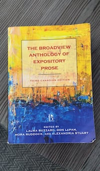 The Broadview Anthology of Expository Pose Surrey