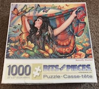 Colorful 1000 jigsaw puzzle set. Opened box but never been used! Gulfport, 39503