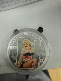 Marylin Monroe coin San Antonio, 78232