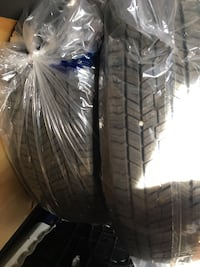 Yokohama Geolender all season tires. Set of 4 almost brand new only used for few months .  Size is 215-70R16. Perfect fit for dodge caravan .