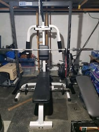 Para body pro system 893 plus 2 benches
