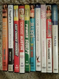 Workout / Exercise DVDs Germantown