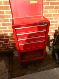 red and black tool cabinet Denver, 80220