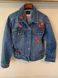 Urban Outfitters Embroider Jean Jacket Germantown, 20876