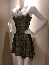 Shimmer dress with beaded neckline Janesville