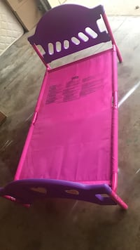 toddler's pink and purple bed frame Enid, 73703
