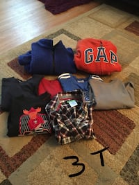 assorted-color clothes