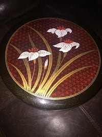 Floral rice bowl hard plastic 10x10inches  Bakersfield, 93313