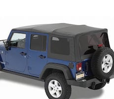 Soft Top for Jeep Wrangler Unlimited (stock photo)