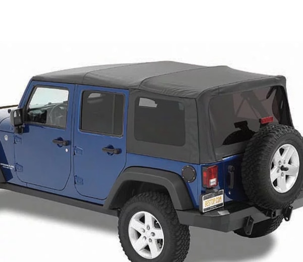 Best Top Jeep >> Soft Top For Jeep Wrangler Unlimited Stock Photo