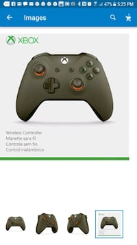 black Xbox One wireless controller screenshot Great Falls, 22066