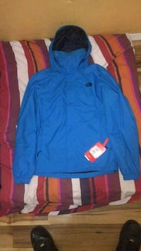 blue and red zip-up hoodie Winnipeg, R2W 1V3