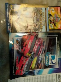 three pease magazine and tickstuff on nascar  Hagerstown, 21740