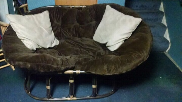 Pier 1 Brand New Double Papasan Couch Chair