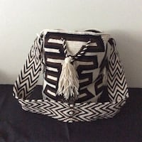 Colombian Wayuu Bag Large  handmade free shipping Columbia, 17512
