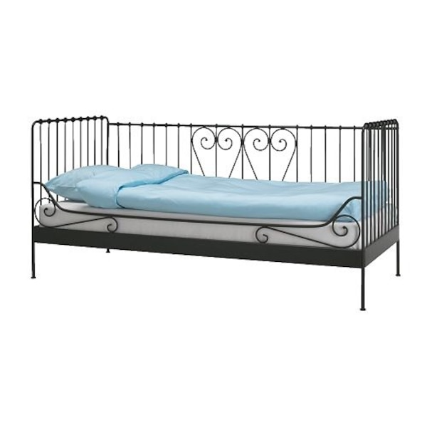 brand new 3a395 15496 Ikea meldal twin size bed frame metal iron daybed