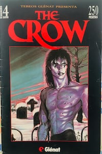 Ejemplar Nº4 Còmic The Crow. James O'Barr  Alcorcón, 28922