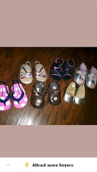 toddler's assorted pairs of shoes Bakersfield, 93307