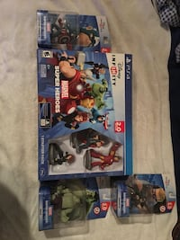 Disney infinity 2.0 starter pack with 3 extra figures Orlando, 32828