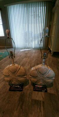 2 shell lamps.  Great condition Berkeley Township, 08721